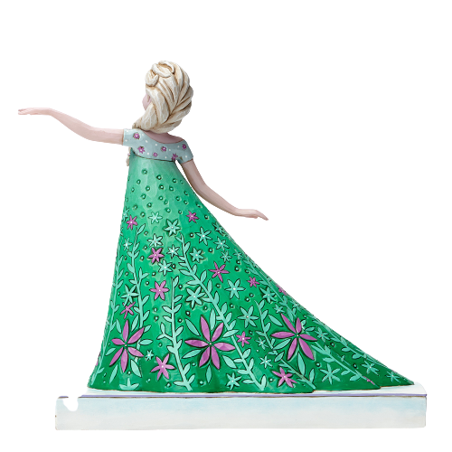 "Disney Traditions by Jim Shore - 18.6cm/7.3"" Elsa, Celebration of Spring"