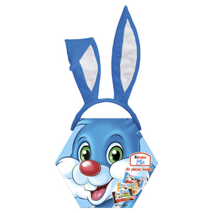 Kinder Milk Maxi Set (including BLUE bunny ears), 167g