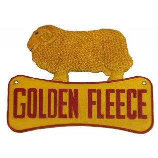 Golden Fleece Ram Sign - Hansel and Gretel Coffee House