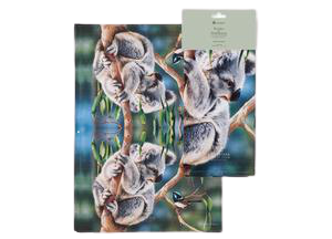 Fauna of Australia - Koala & Wren Kitchen Towel