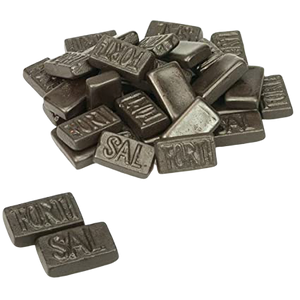 Dutch Liquorice - Fortisal Triple Salted, 200g - Hansel and Gretel Coffee House