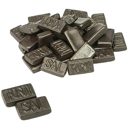 Dutch Liquorice - Fortisal Double Salted, 200g - Hansel and Gretel Coffee House