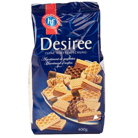 Hans Freitag - Desiree Assorted Wafers 400g