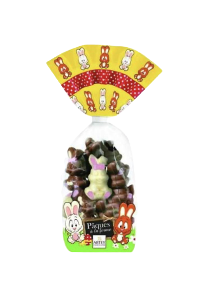 Abtey Chocolatier | Milk & White Chocolate Bunny's - Hansel and Gretel Coffee House