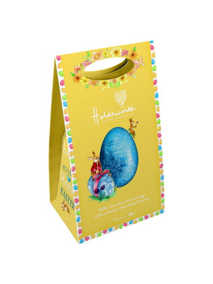 Holdsworth Chocolatier | Hoppy Happy Milk Chocolate Easter Egg - Hansel and Gretel Coffee House