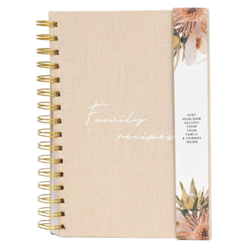 Flourish Family Recipe Journal