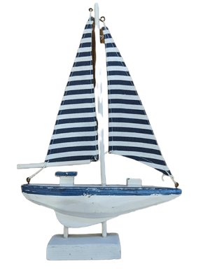 Sailboat Ornament - Hansel and Gretel Coffee House