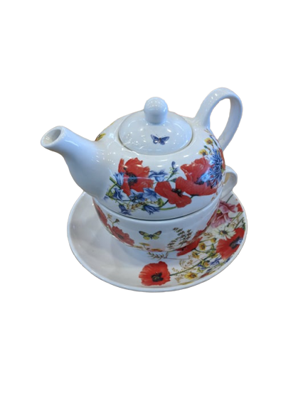 JBS Fine China Teapot - Hansel and Gretel Coffee House