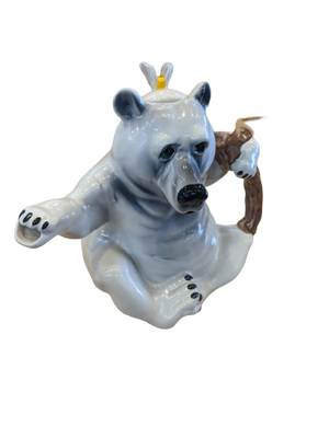 Polar Bear Teapot - Hansel and Gretel Coffee House