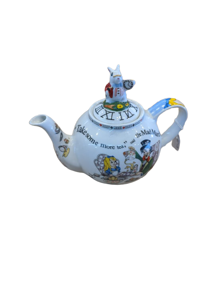 Alice in Wonderland Small Teapot - Hansel and Gretel Coffee House