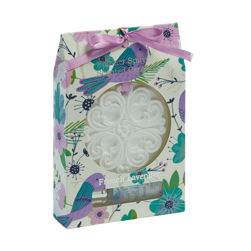 Liberty Bloom Scented Ceramic Disk in Box - Hansel and Gretel Coffee House