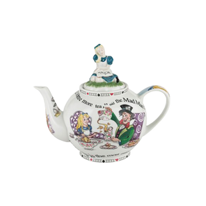 Cardew Design - Alice In Wonderland 6-Cup, 48 oz Teapot with Alice Lid - Hansel and Gretel Coffee House