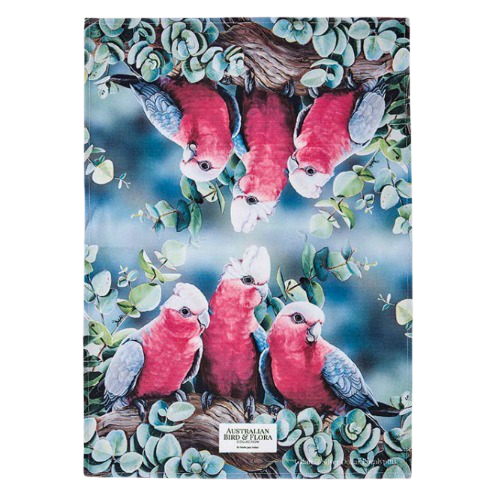 Tea Towel | Australian Bird and Flora Collection