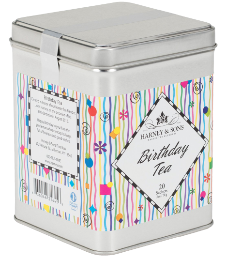 Harney & Sons | Birthday Tea, 20 sachets - Hansel and Gretel Coffee House