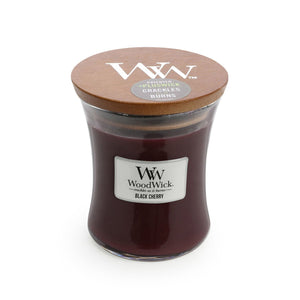 WoodWick Black Cherry - Medium - Hansel and Gretel Coffee House