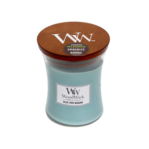 WoodWick Blue Java Banana - Medium - Hansel and Gretel Coffee House