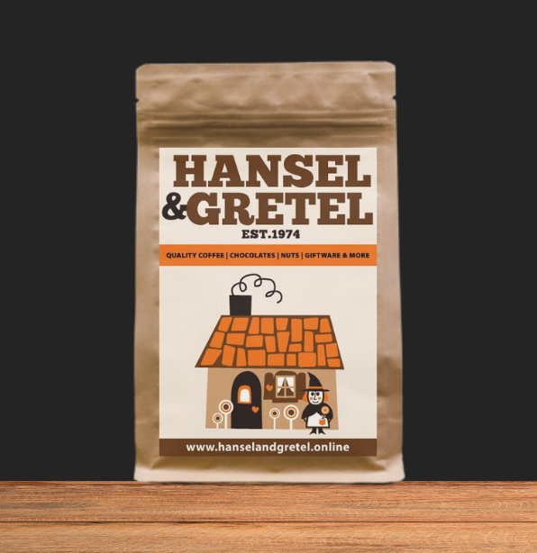 Swiss Choc Almond Coffee Beans - Freshly Roasted in Canberra - Hansel and Gretel Coffee House