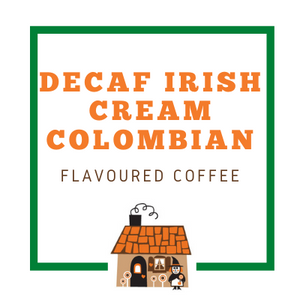 Decaf Irish Cream Colombian Coffee Beans - Freshly Roasted in Canberra