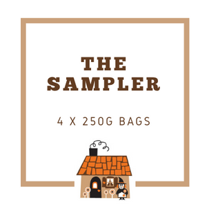 The Sampler - 4 x 250g bags of our favourite coffee beans!