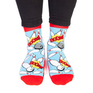 Bowling Feet Speak Socks - Hansel and Gretel Coffee House