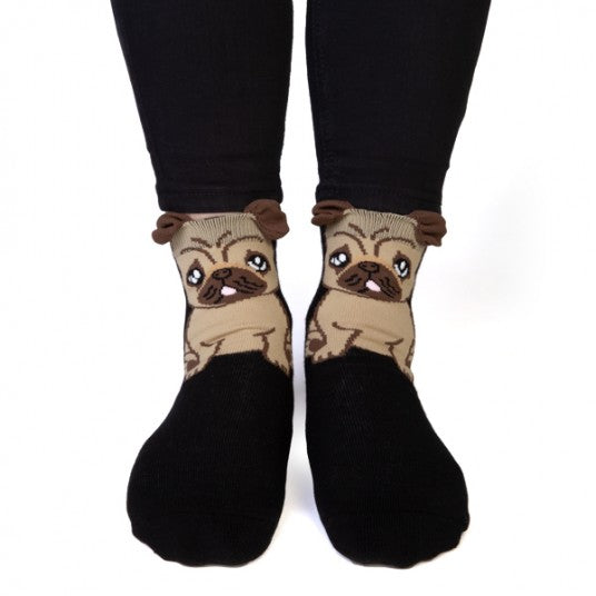 Pug Feet Speak Socks - Hansel and Gretel Coffee House