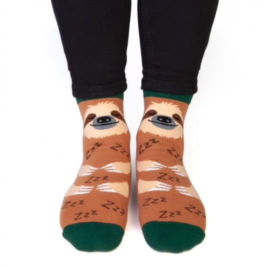 Sloth Feet Speak Socks - Hansel and Gretel Coffee House