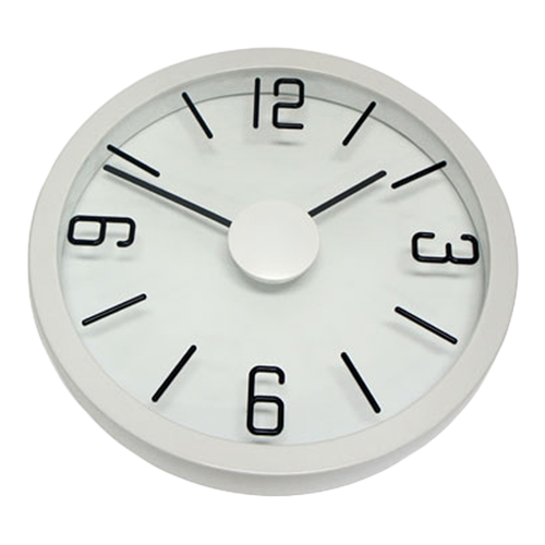 Degree White Float Clock 35cm - Hansel and Gretel Coffee House