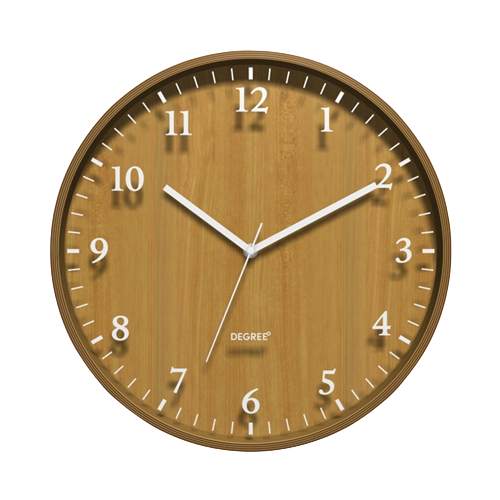 Degree Bentwood Silhouette Clock 40cm - Hansel and Gretel Coffee House