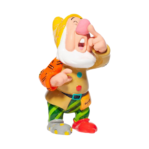 Disney By Britto - Mini Figurine Dwarf Sneezy