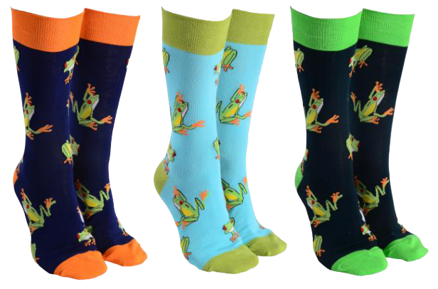 Sock Society - Frog Socks - Hansel and Gretel Coffee House