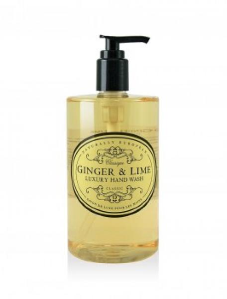 NATURALLY EUROPEAN HAND WASH GINGER & LIME 500ML - Hansel and Gretel Coffee House