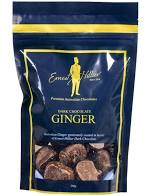 Ernest Hillier Dark Chocolate Ginger - Bag 200g