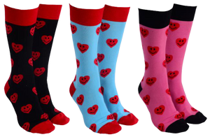 Sock Society - Happy Heart Socks - Hansel and Gretel Coffee House