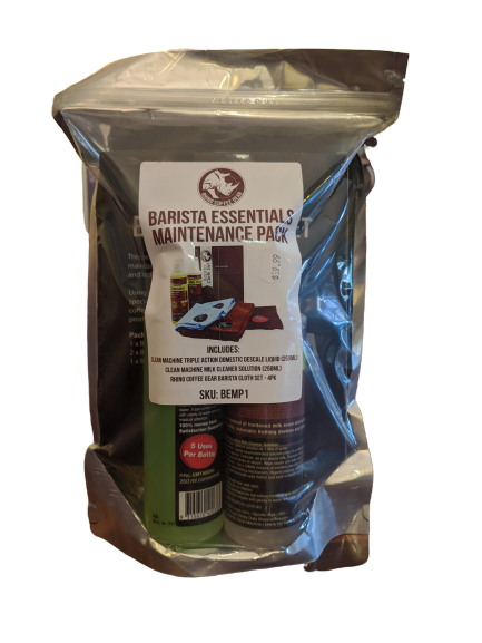 Rhino Barista Essentials Maintenance Pack - Hansel and Gretel Coffee House
