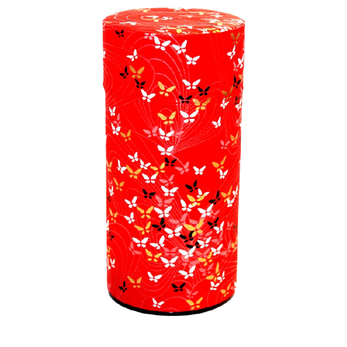 Tea Container | Butterfly Red (200g)
