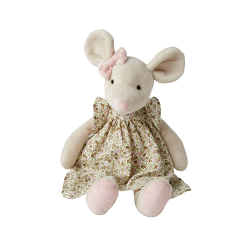 Plush Mouse – Isabella - Hansel and Gretel Coffee House