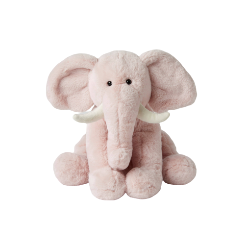 Plush Ele Pink – Small - Hansel and Gretel Coffee House