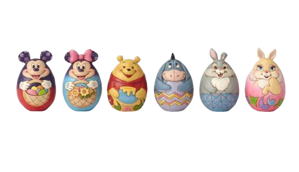 Jim Shore -Disney Egg Characters - Hansel and Gretel Coffee House