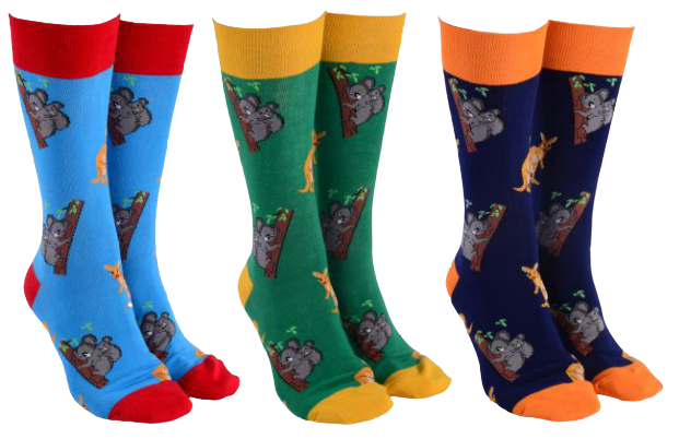 Sock Society - Kanga and Koala Socks - Hansel and Gretel Coffee House