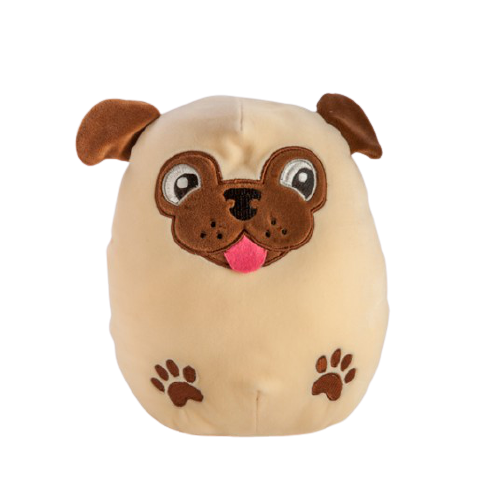 Smoosho's Pals Pug Plush