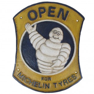 Michelin Open Sign Yellow - Hansel and Gretel Coffee House