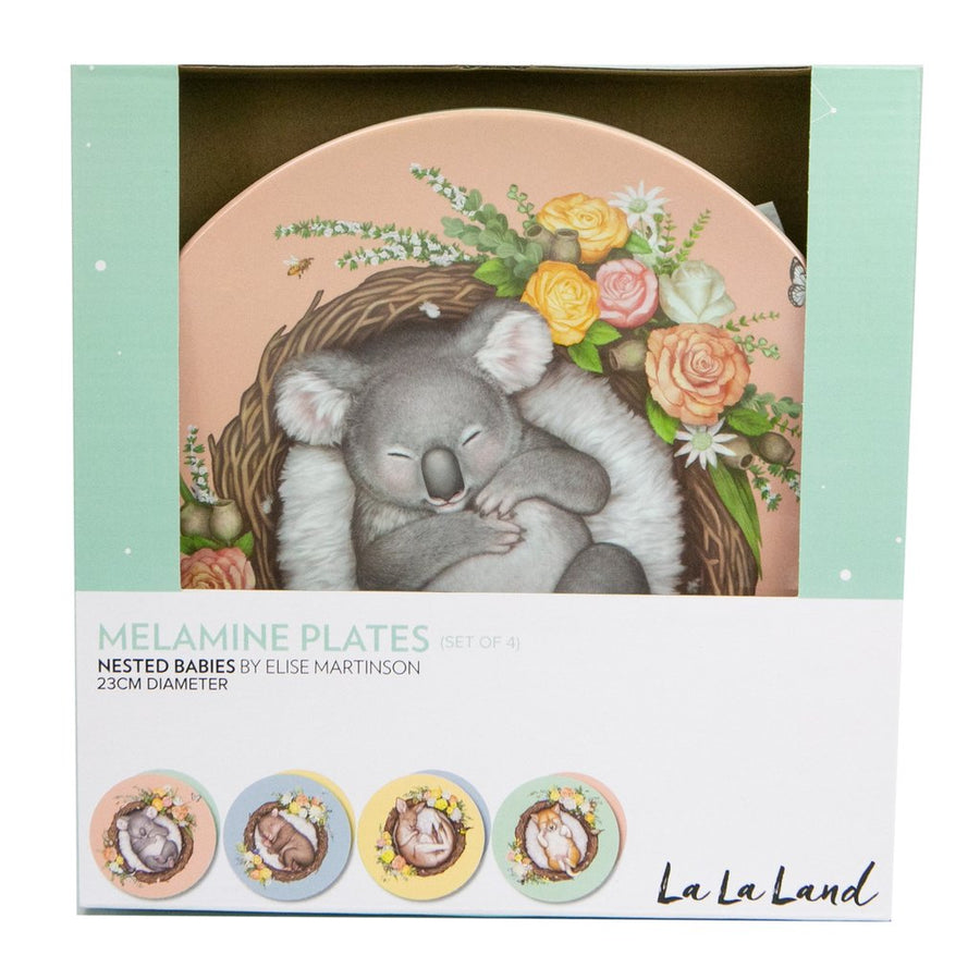 La La Land - Plate Set Nested Babies