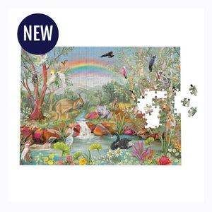 La La LAnd Nature Dwellings Rainbow Puzzle -1000 piece