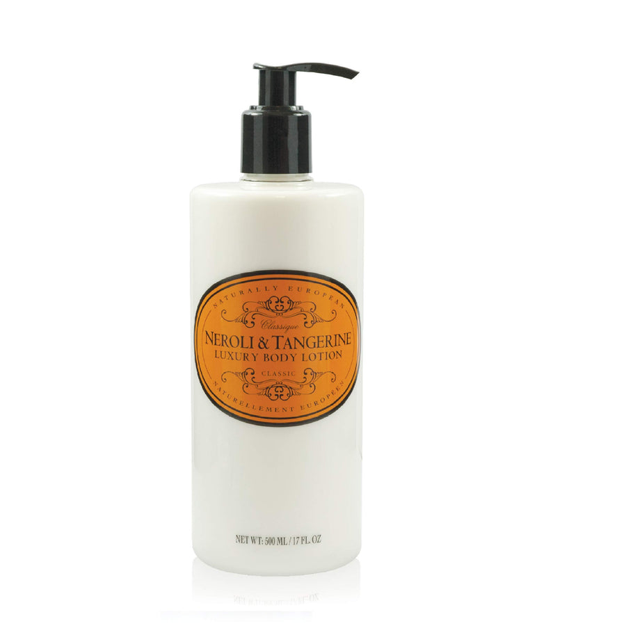 NATURALLY EUROPEAN BODY LOTION NEROLI & TANGERINE - 500ml - Hansel and Gretel Coffee House
