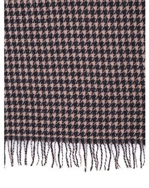 Pink/Brown Scarf - Hansel and Gretel Coffee House
