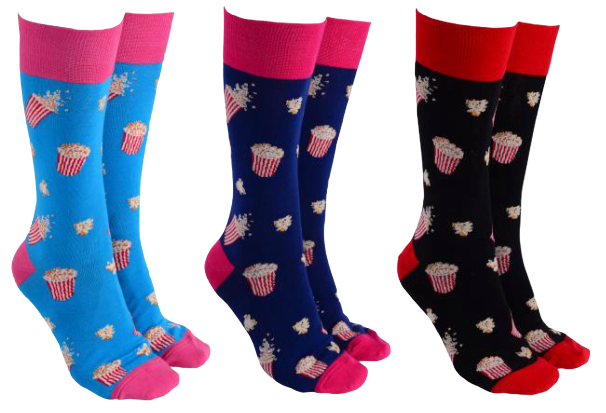 Sock Society -  Popcorn Socks - Hansel and Gretel Coffee House