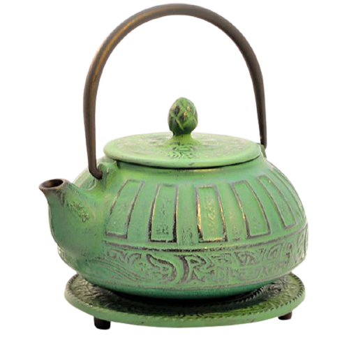 Reflection Green Iron Teapot 800ml
