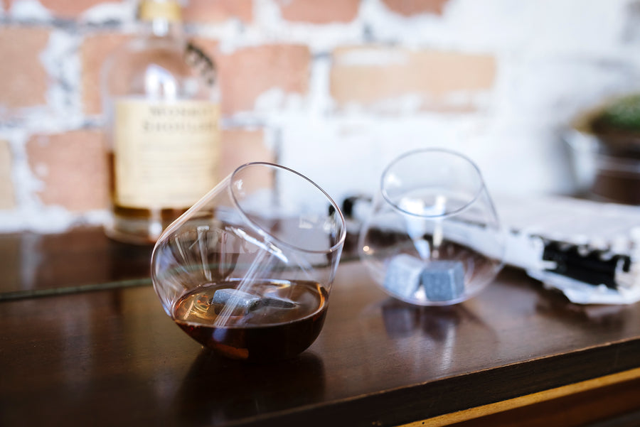 Rocking Whisky Glasses x 2 - Hansel and Gretel Coffee House