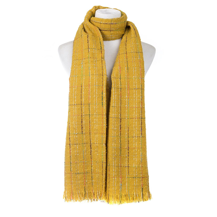 Mustard Scarf - Hansel and Gretel Coffee House