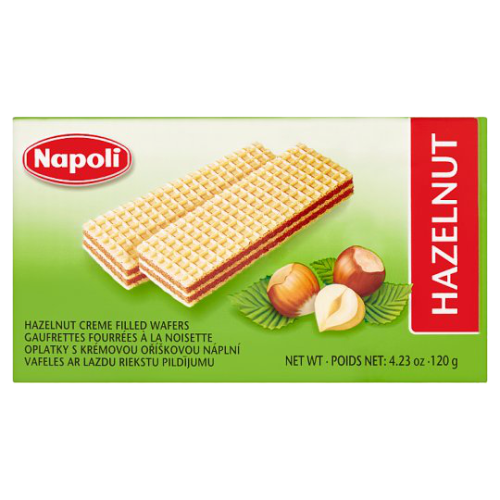 Napoli Creme Filled Wafers - Hansel and Gretel Coffee House